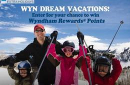 Enter for a Chance to Win 100,000 Wyndham Rewards® Points! Give the Gift of Vacation this Holiday Season – Wyndham Extra Holidays Black Friday Sale – Resort Savings Up to 50% Off!