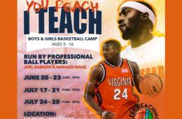 NEW AUGUST WEEK ADDED! $180 for You Reach I Teach Basketball Camp for Ages 5-16 - Potomac (20% Off)