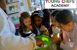 One Week of Half-Day Sandy Springs Young Chefs® Academy Kinder Camp