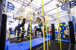 $15 for 1-Hour Weekday Pass to ZavaZone + Jump Socks! Includes Jump & Adventure Zone, Climbing, American Ninja Warrior Challenges & More for Ages 5+ in Rockville! (31% Off)