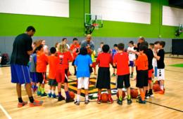 $105 for FULL WEEK Coed Spring or Summer Basketball Camp for Ages 5-16 with Slam City Basketball at nZone - Chantilly (40% Off - $175 Value)