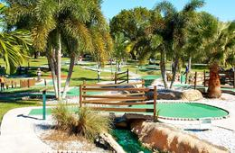 Mini Golf with Range Balls & Ice Cream or Soft Drinks at All Golf Center