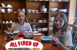 $10 for $20 Worth of Pottery & Mosaics Painting at All Fired Up - Bethesda & Cleveland Park (50% Off)