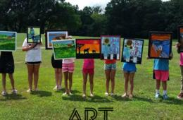 $149 for Art Frame Solutions Art Camp for Ages 7-15 in Reston (38% Off)