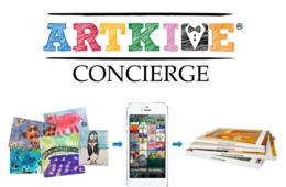 $99 for Artkive Concierge Package - Electronic Archive of Your Children's Art + $30 Hardcover Book Credit! Featured on The Today Show and Real Simple (57% Off)