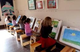 Four Consecutive Weeks of 60-Minute Artworks Art Classes for Ages 5-6