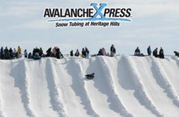 $27.25+ for One Day Pass for UNLIMITED Snow Tubing, Ice Skating & Hot Chocolate at Heritage Hills Golf Resort's AvalancheXpress (Up to 27% Off)