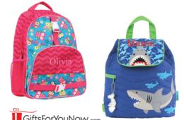 $19.99+ for Back-to-School Personalized Backpacks - 16 Fun Designs (Up to 34% Off)