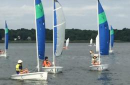 $60 Off TWO-Week Sailing Camp for Ages 8-16 at Baltimore County Sailing Center - Includes Bonus Family Sail and FREE BUS Transportation from Howard County, Baltimore County & Baltimore City