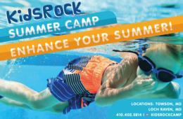 $470+ for TWO WEEKS of KidsRock Summer Camp for Rising K-9th Graders + Extended Care and Field Trips! - Towson & Baltimore (Up to $150 Off)