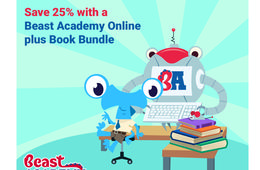 25% Off Beast Academy One-Year Bundle Subscription