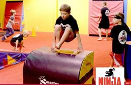 Ninja Zone Classes at All Pro Gymnastics