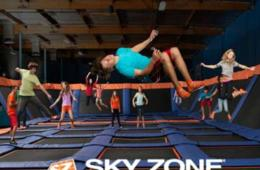 3 for 2 Special! $34 for THREE 60-Minute Jump Passes at SKY ZONE TRAMPOLINE PARK - Gaithersburg, Columbia, Manassas and Fredericksburg (Up to 35% Off)