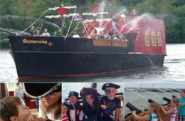 $12 for Boomerang PIRATE SHIP Family Fun Cruise - Georgetown Waterfront (46% Off!)