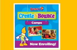 $40 for BounceU STEM/TECHNOLOGY or ART Camp - Rockville & Clarksburg (35% Off!)