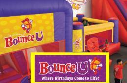 $20 for Bounce-U Five-Pass - Clarksburg/Germantown (50% Off!)