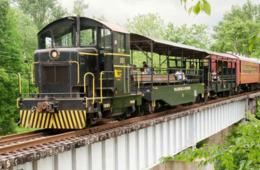 $10 for Bunny Train Ride on Walkersville Southern Railroad (Up to 34% Off)