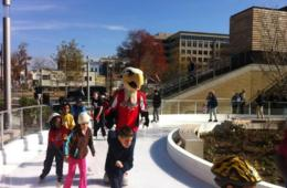 $13 for 2 Admissions - Adult or Child - Including Skate Rentals at Canal Park Ice Skating Pavilion (Up to $26 Value - 50% Off)