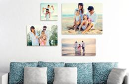 $3.99+ for High Quality Canvas or Custom Photo Blanket by Photo.Gifts - Unbeatable Value! (Up to 92% Off)