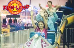 $20 for Central Park Fun Land ALL-DAY UNLIMITED RIDES & ATTRACTIONS + $10 Arcade Credit - Fredericksburg, VA (54% Off)