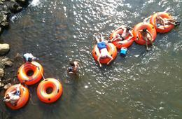 River Tubing for Two or Four People at Coal Tubin'