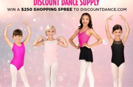 Win a $250 Shopping Spree from DiscountDance.com!