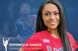 Dominique Dawes Gymnastics & Ninja Academy 50% Off Annual Family Membership