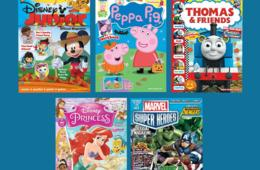 $15 for One-Year Magazine Subscription to Disney Junior, Thomas & Friends, Disney Princess, Peppa Pig and MORE! (47% Off)