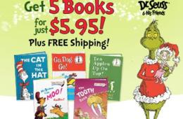 $5.95 for 5 Dr. Seuss & His Friends Books - Shipping Included! ($50 Value - 89% Off)