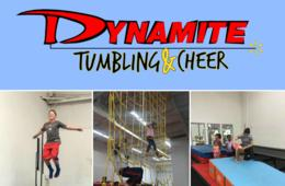 $240+ for Dynamite Tumbling & Cheer Camp for Ages 3-17 in Gaithersburg (Up to 34% Off)