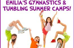 $135+ for Gymnastics or Tumbling Camp for Ages 5-16 at Emilia's Acrobatics and Gymnastics Club - Laurel (Up to 23% Off)