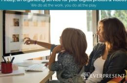 $100 Off Digital Photo and Video Organizing Services from EverPresent - a Team of Magical Professional Photo Organizers Who Do All the Work for You!