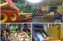 $199 for DIY BOUNCE Party for Up to 12 Kids at Fairfax Athletic Center in Annandale - Includes ALL DAY Bounce Admission ($51 Off)