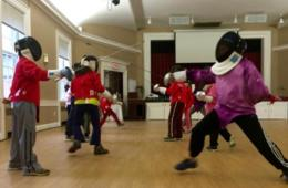 $60 for Four Weeks of Beginner Fencing Lessons for Ages 7-14 at Nova Fencing Club - Falls Church, VA (40% Off)