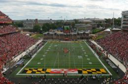 $15+ for Ticket to University of Maryland Football Game - Sept. 23rd or Oct. 28th - College Park (Up to 40% Off)