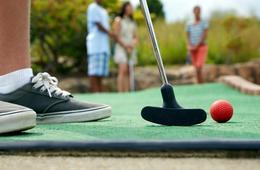 Round of Mini Golf at Forsythe Miniature Golf