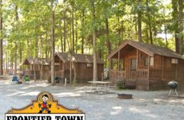 2-Night Barebones Cabin Getaway at Frontier Town