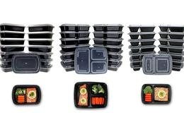 Meal Prep Container and Lunch Box Set with Lids