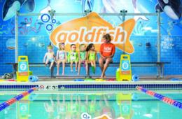 $120 for Six Swim Lessons at Goldfish Swim School in Columbia - $25 Deposit Paid Now (29% Off)