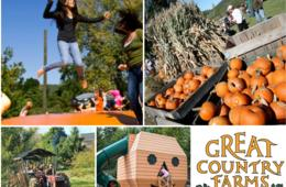 $7 for October Weekday Admission to Great Country Farms + Pumpkin! (50% Off)