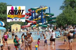$22.50 for GREAT WAVES WATER PARK 4-Pack of Weekday Afternoon Tickets - Alexandria, VA (32% Off)