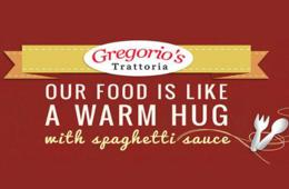 $15 For $30 of Food at Gregorio's Trattoria - Potomac or Reston! (50% Off)