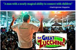 $187.50 for The Great Zucchini School, Camp or Party Performance - WEEKDAYS Including FRIDAYS! (50% Off)