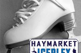 $10 for Admission and Skate Rental for Two at Haymarket Iceplex (50% Off - $20 Value)