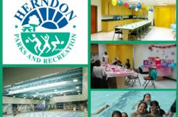Herndon Community Center Indoor Pool Party