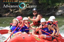 CHILD Ticket for Harpers Ferry Adventure Center White Water Rafting