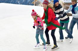 Ice Skating with Skate Rentals at ICE at The Parks