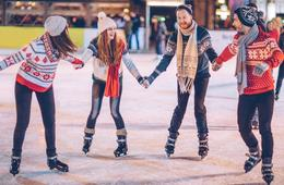 Open Skate with Rentals for Two or Four at Ice Garden