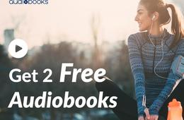 2 FREE Audiobooks with 30-Day Free Trial of Audiobooks.com