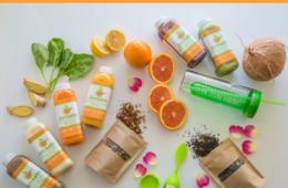 $115 for Juice-a-lot 5 Day Juice Cleanse With 14 Day Teatox (40% Off)
